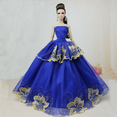Party / Evening Dresses For Barbiedoll Polyester Dress For Girl's Doll Toy