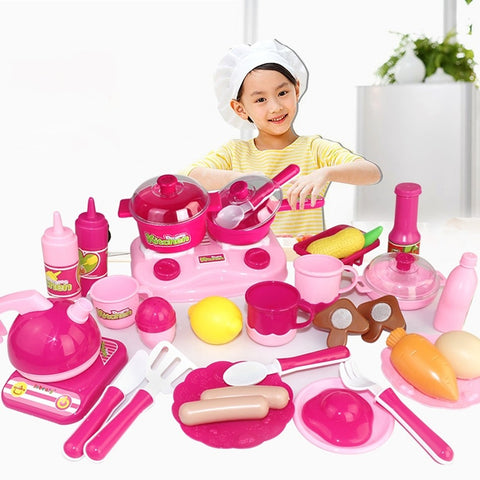 Pretend Play Food&Drink Parent-Child Interaction Child's Preschool Toy Gift 30 pcs