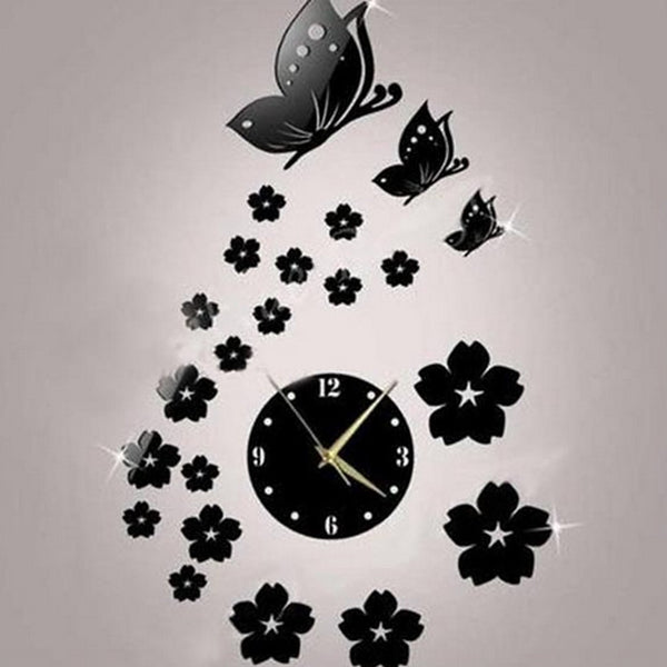 Wall Clock,Modern Style Plastic Irregular Indoor