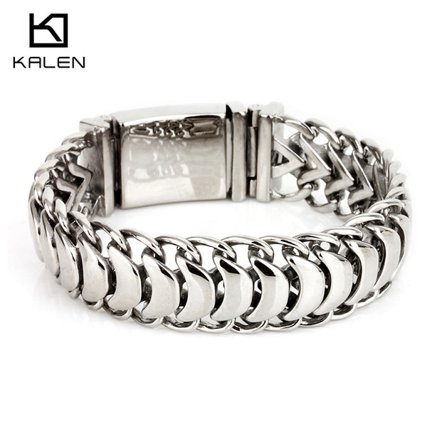 Men's Anklet Dragon Personalized Casual Link / Chain Fashion Titanium Steel Bracelet Jewelry Screen Color For Gift Valentine