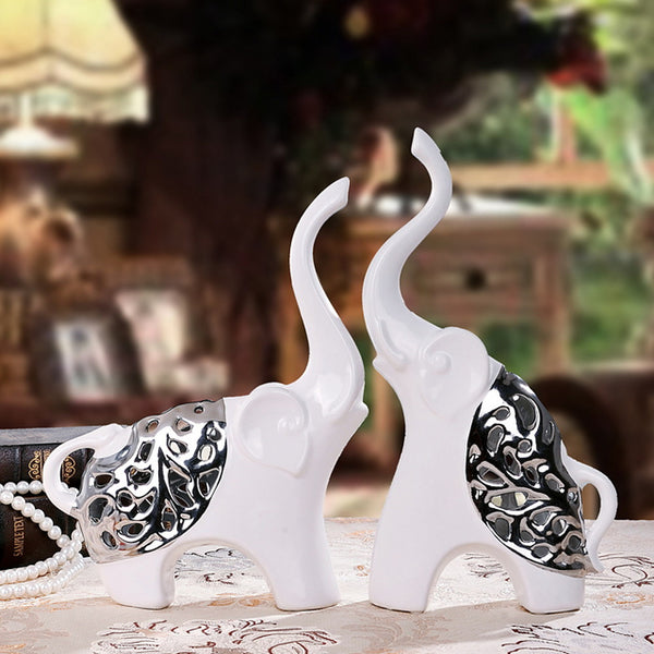Collectibles, Ceramic Modern Contemporary for Home Decoration Gifts 2pcs