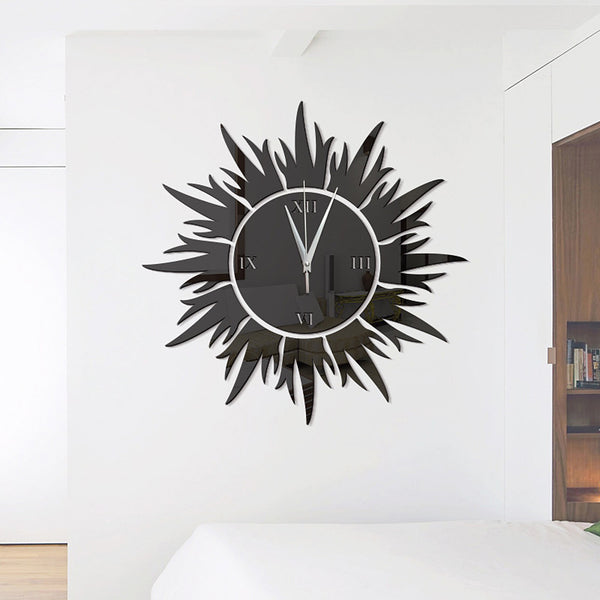 Wall Clock,Modern Contemporary Acrylic Plastic Irregular Indoor
