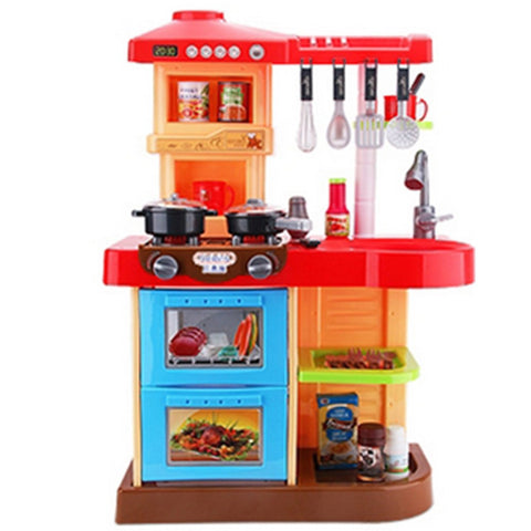 Toy Kitchen Sets Toy Food / Play Food Kids' Cooking Appliances Pretend Play Toys Simulation Plastics Children's Pieces