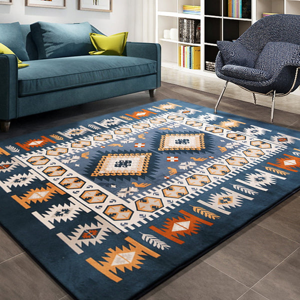 Area Rugs Geometric Pattern Polyster, Rectangular Superior Quality Rug
