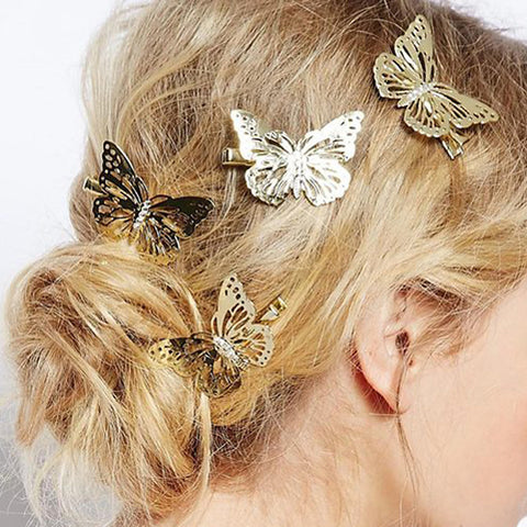 Women's Elegant Alloy Hairpins Hair Charms