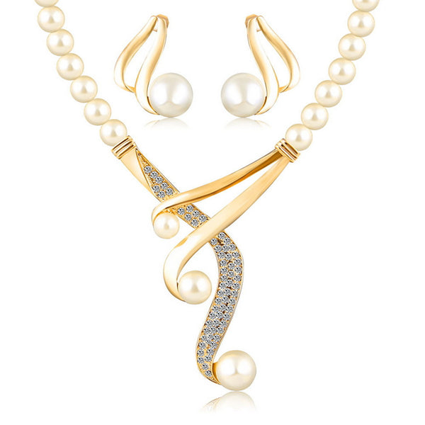 Women's European / Fashion Pearl Jewelry Sets
