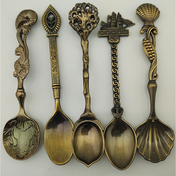 Antique Classic Stainless Steel Soup Spoon, 1set