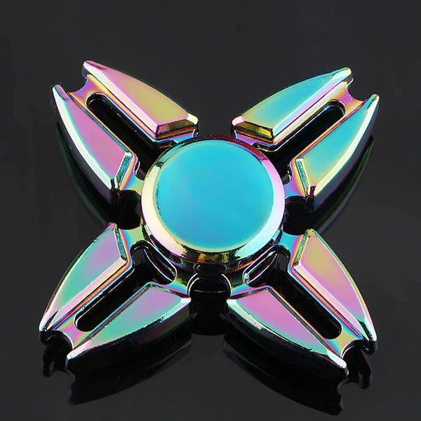 Hand spinne Fidget Spinner Hand Spinner High Speed for Killing Time Stress and Anxiety Relief Metalic Classic 1 pcs Pieces Boys' Girls' Toy Gift