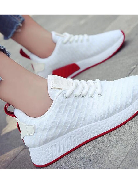 Women's Sneakers Breathable Mesh / PU(Polyurethane) Comfort