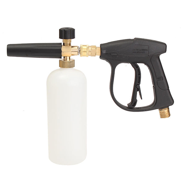 1L 3000PSI High Pressure Washer Snow Foam Lance Sewer Brush Fittings Clean Gun