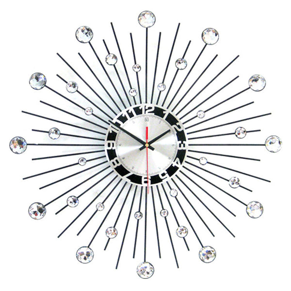 Modern Round Iron Wall Clock