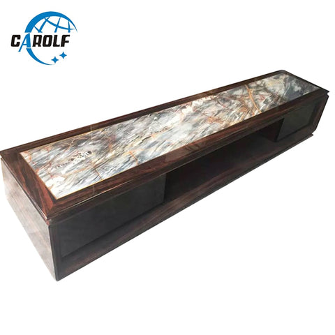Home Furniture Product Cheap Price Modern TV Table Living Room Marble Top TV Stand Wooden TV Unit