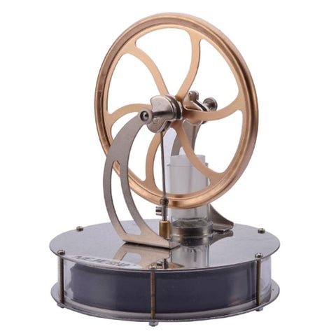 LJKGDQ Stirling Machine Engine Motor Model Science & Exploration Set Fun Aluminium Kid's Boys' Girls' Toy Gift