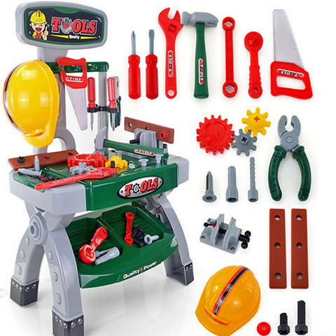 Toy Tool / Tool Box Novelty / Safety Plastic Boys' Kid's Gift