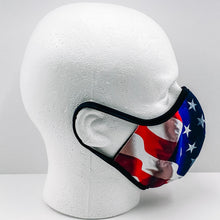 Load image into Gallery viewer, Premier Custom Mask: USA Flag