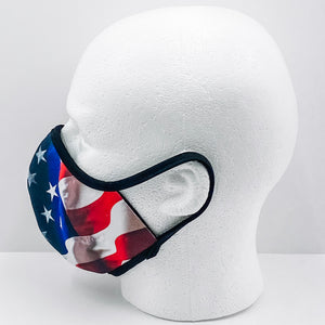 Premier Custom Mask: USA Flag