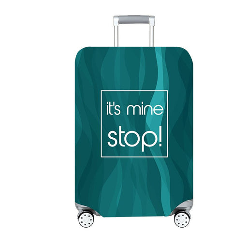 Housse de valise it's mine stop