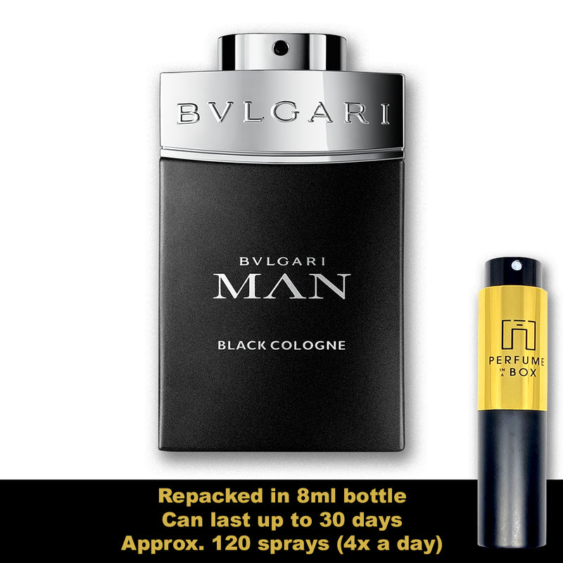 Bvlgari Man in Black Cologne 8ml