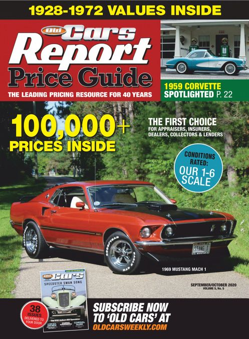 Old Cars Price Guide - Print Magazine