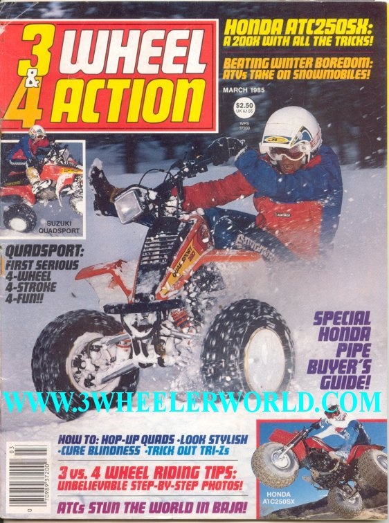 Three and Four Wheel Action - Print Magazine