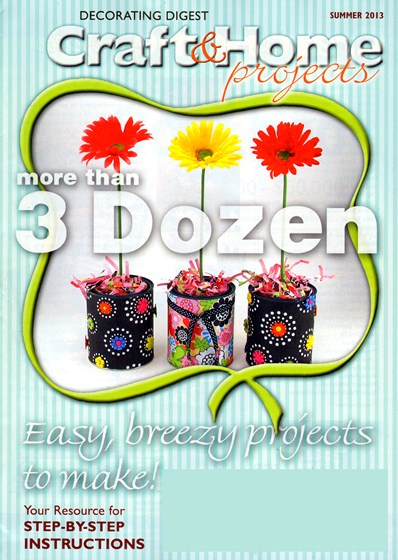 Craft & Home Projects - Print Magazine