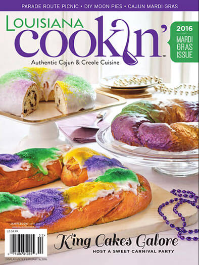 Louisiana Cookin' Magazine - Print Magazine