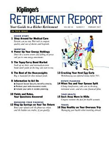 Kiplinger's Retirement Report - Print Magazine