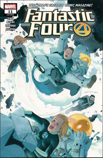 Fantastic Four - Print Magazine