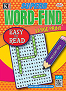 Superb Word Find Bonus - Print Magazine