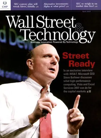 Wall Street & Technology - Print Magazine