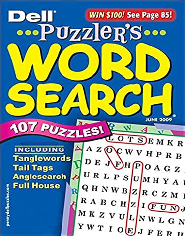 Puzzler's Word Search - Print Magazine