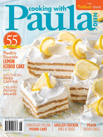 Cooking with Paula Deen - Print Magazine
