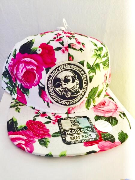 Limited Edition SnapBack / Floral Space