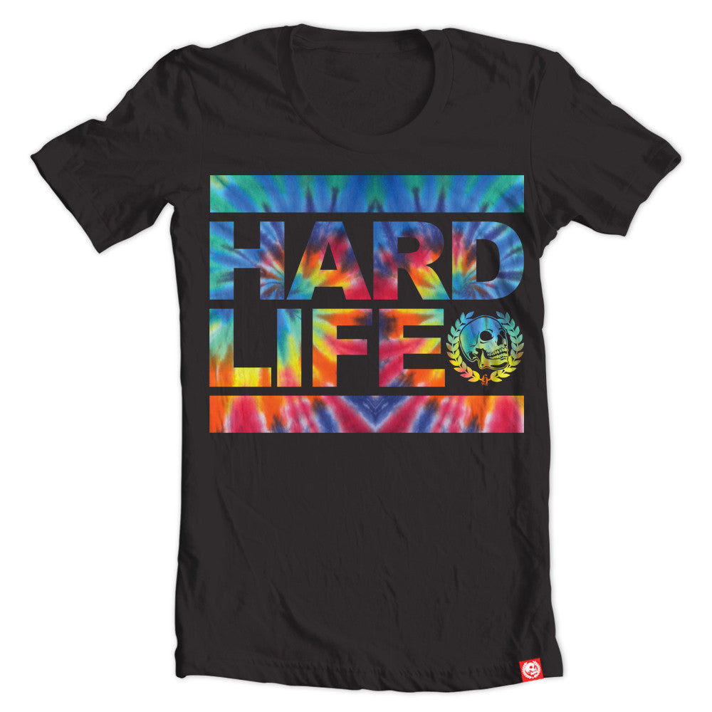 Hippie Run Tie Dye black tee.