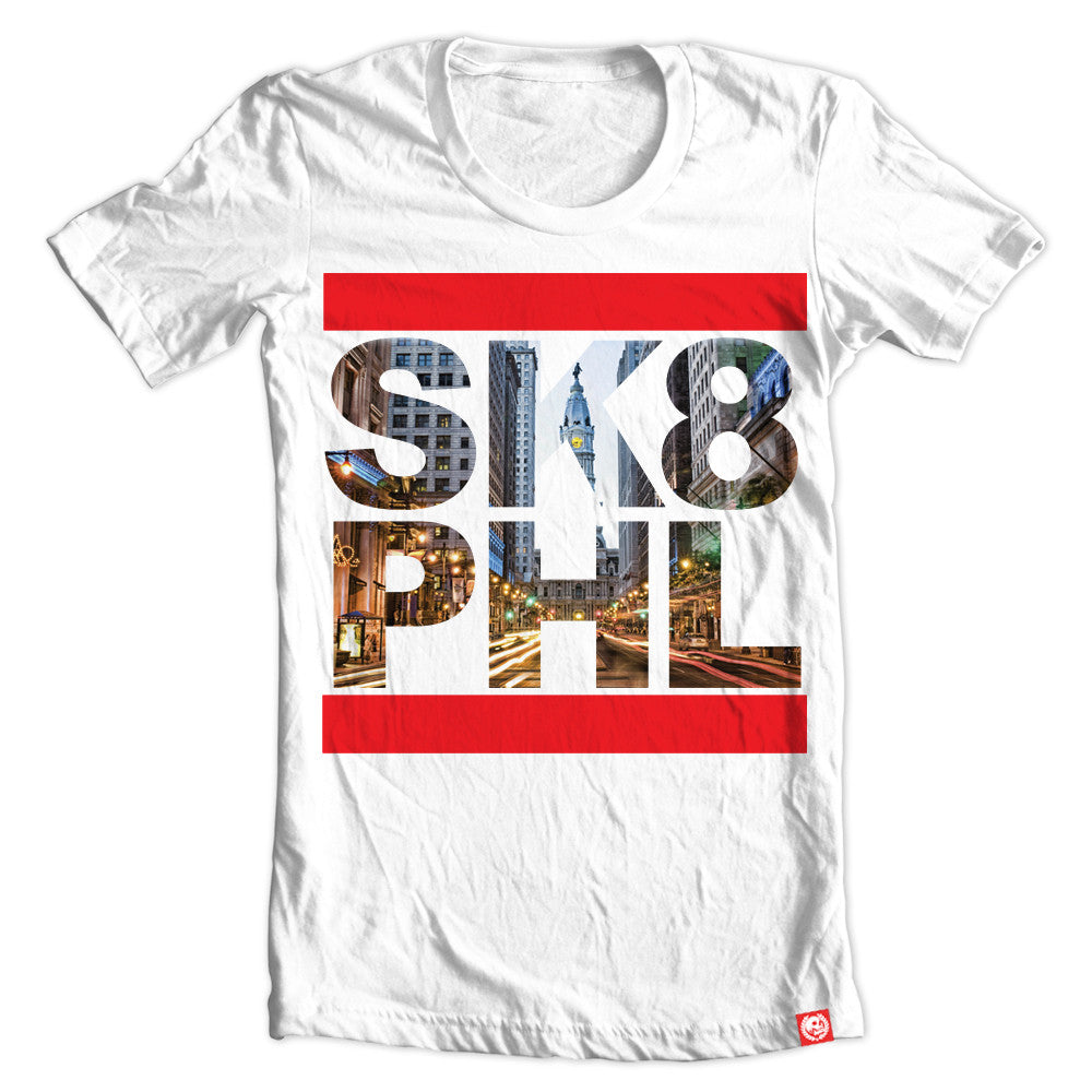 Sk8 Philly Black tee.