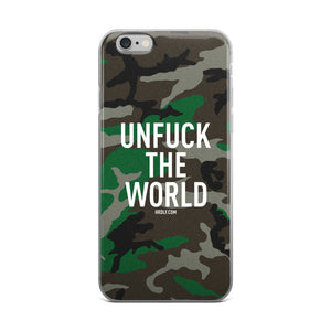 UFTW Camo iPhone case