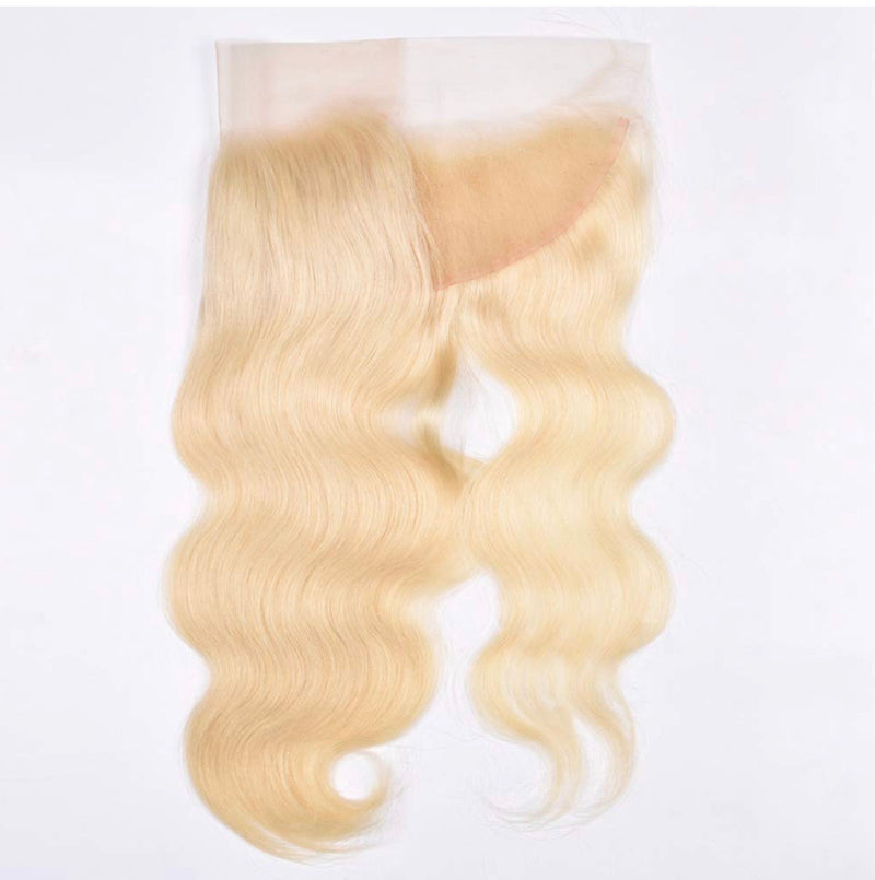 613 blonde lace frontal body wave