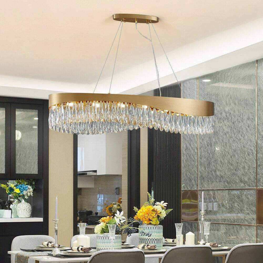 LUSTRE EMPIRE CRISTAL