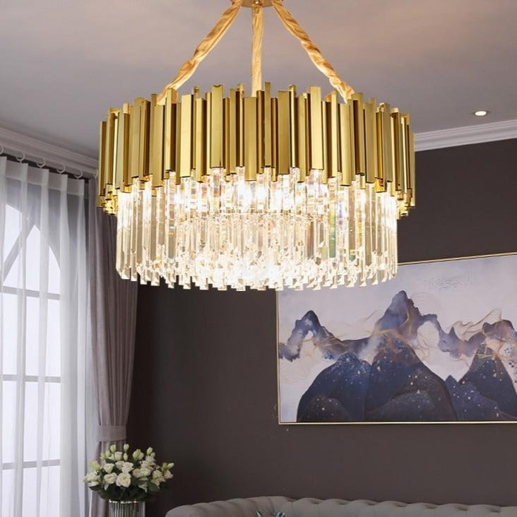 LUSTRE DESIGN CONTEMPORAIN ITALIEN