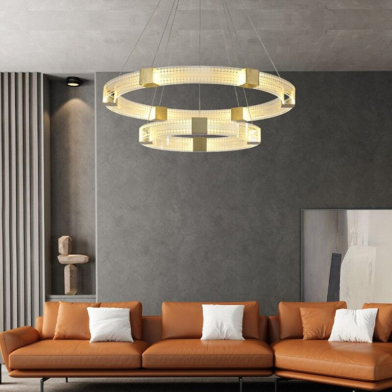 SUSPENSION CERCLE LED