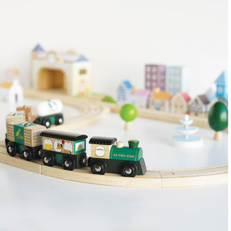 Stock wooden toy trains & wooden toy train sets & accessories for wooden toy train sets online in South Africa. We stock the Big Jigs Rail brand & Le Toy Van wooden train. Click to view our wooden toy trains & wooden toy train sets