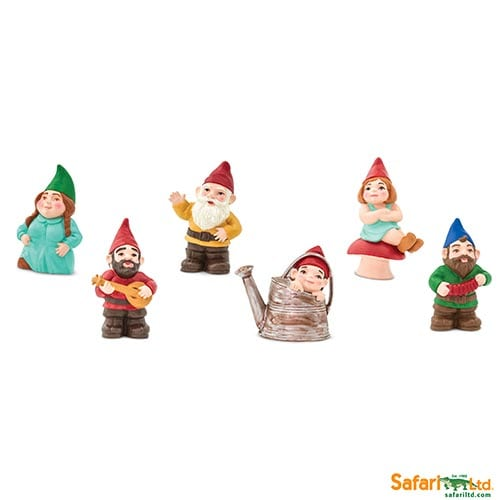 Safari Ltd Gnome Family Designer Toob 100071