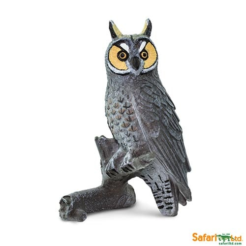 Safari Ltd Long Eared Owl (Wings of the World Birds) 100093