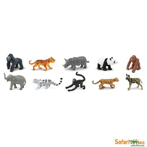 Safari Ltd Endangered Species Land Animals 100109
