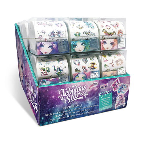 Nebulous Stars Sticker Rolls 11524