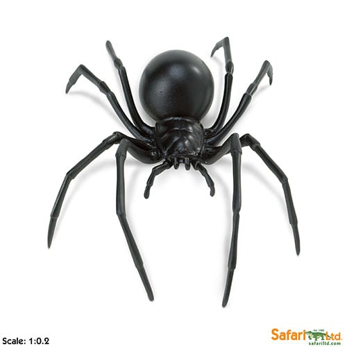 Safari Ltd Black Widow Spider (Incredible Creatures) 545406