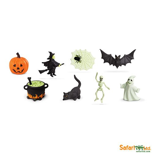 Safari Ltd Glow in the Dark Halloween Designer Toob 678004
