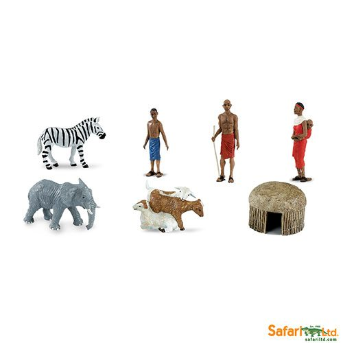 Safari Ltd African Village Designer Toob 682004