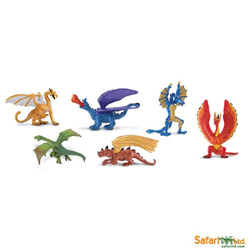 Safari Ltd Lair of the Dragons Collection 1 Designer Toob 685604