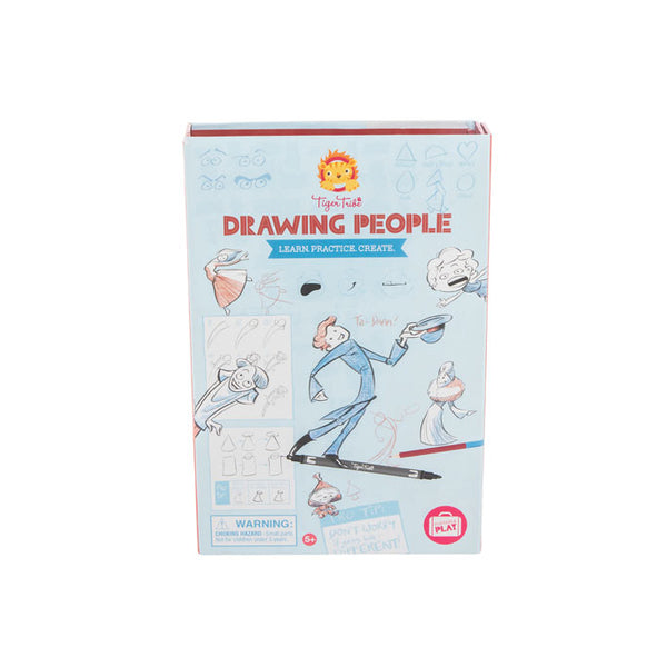 Tiger Tribe - Drawing People Kit 6-0264